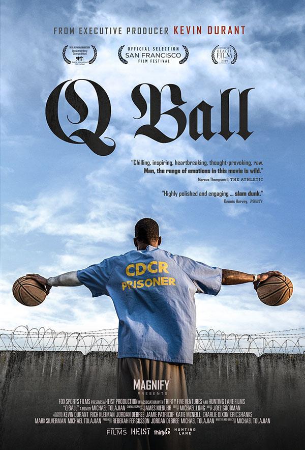 q ball san quentin warriors documentario locandina