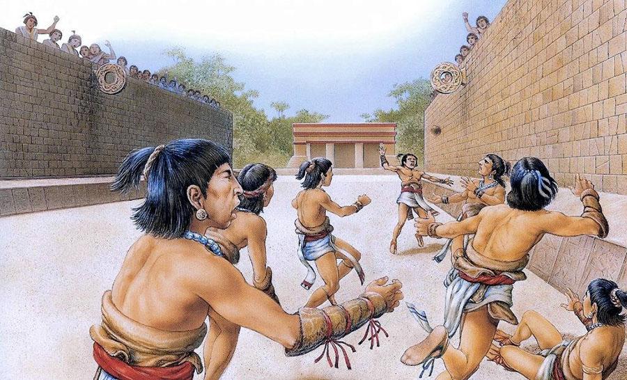tlachtli aztechi