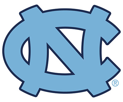 north carolina ncaa tar heels logo