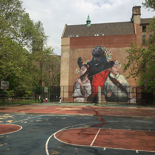playground harlem cherry tree park