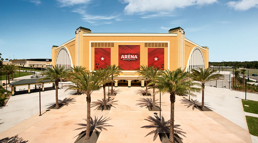 nba a disney world the arena