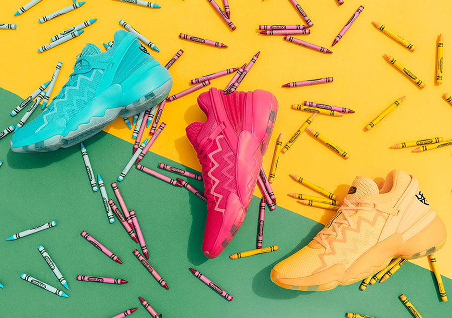 adidas crayola scarpa di donovan mitchell