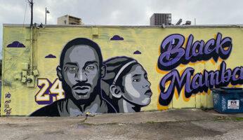 murales dedicati a kobe bryant