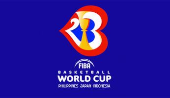 logo dei mondiali di basket 2023 FIBA