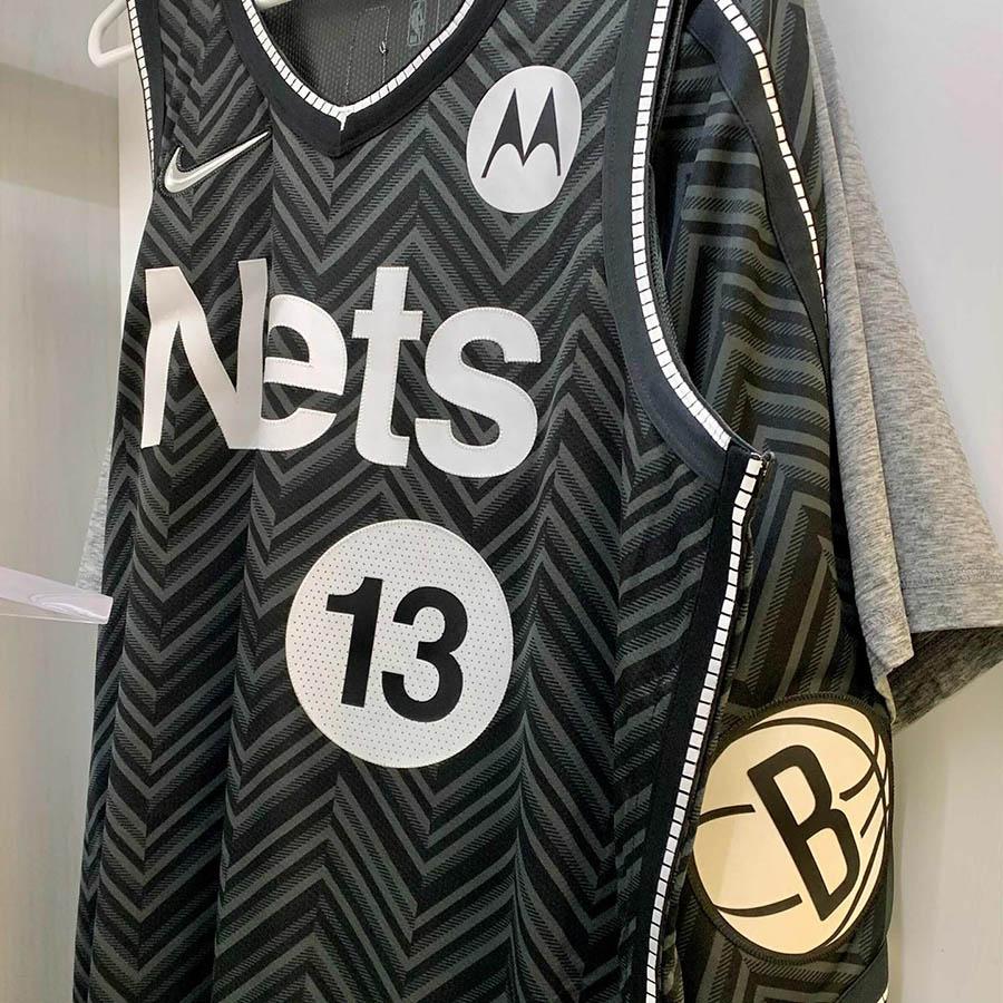maglia earned edition dei brooklyn nets