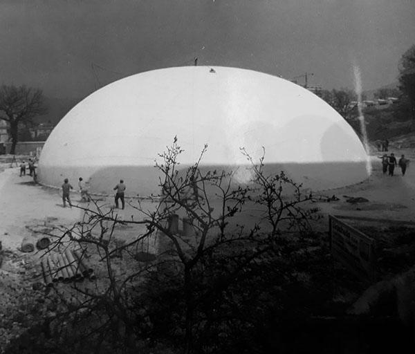 cupola di terni palazzetto dello sport