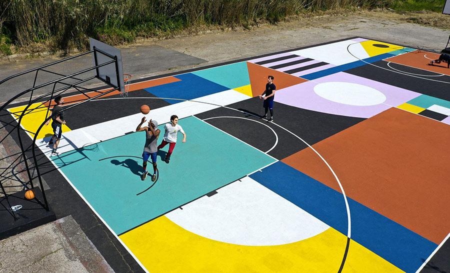 tiber courtyard roma playground