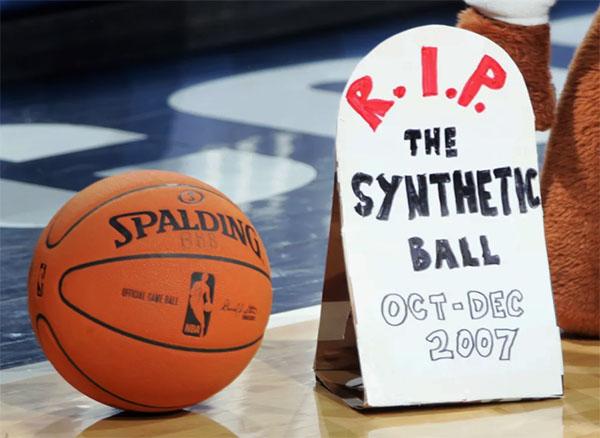 pallone sintetico nba