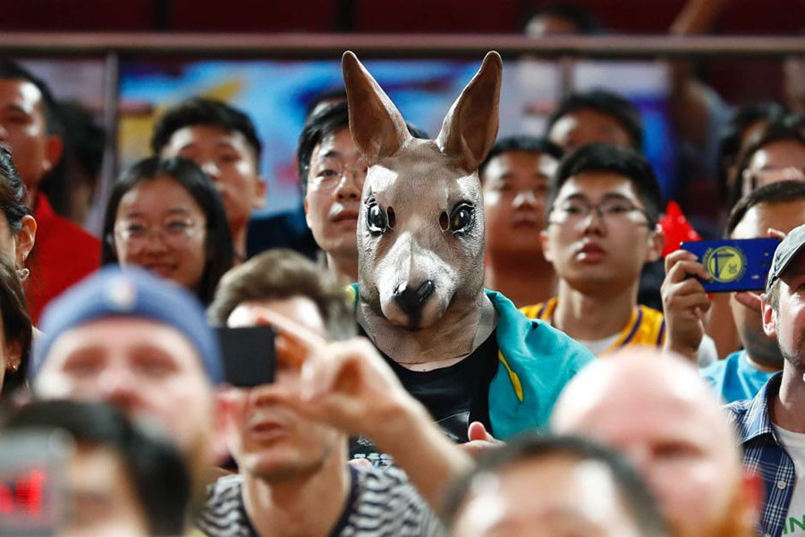 australia di basket boomers canguro