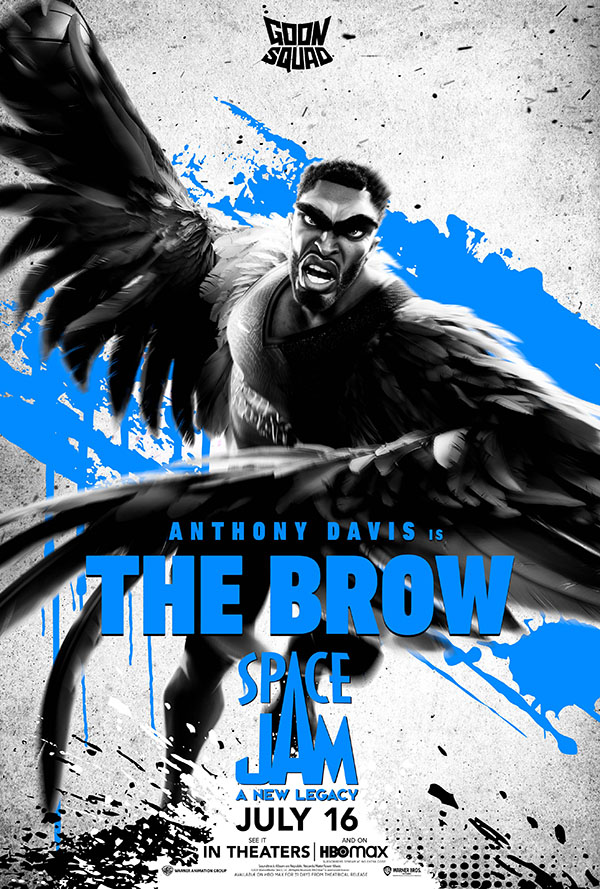 anthony davis the brow space jam