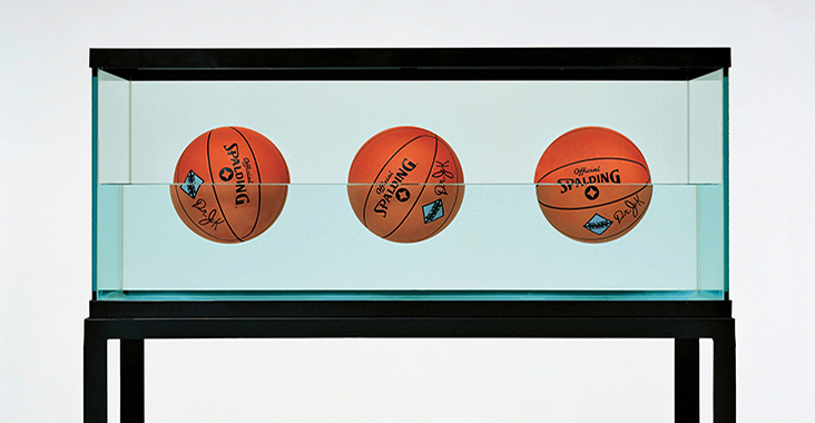 jeff koons palloni da basket